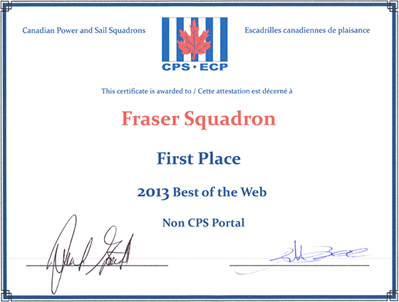 First Place Best of the Web 2013